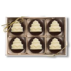 Chocolate Box Favor By The Frosted Petticoat Favors Pinterest - Mini Wedding Cake Mold