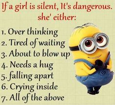 Funny Minion Quotes 008 27 Funny Pics That'll Inject Some Happy Into Your Life Minion Quotes & Memes 30 Hilarious Minions Jokes Top 30 Very Funny Texts 50 Hilariously Funny Minion Quotes With Attitude… Funny Signs That'll Fill Your Mout. Funny Shit, Best Funny Jokes, Stupid Funny Memes, Funny Relatable Memes, Funny Texts, Fun Funny, Super Funny, Memes Humor, Funny Minion Memes