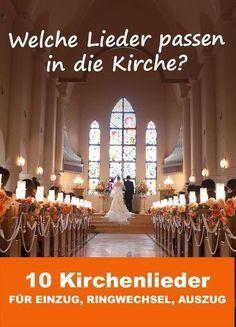 Welche Lieder passen in die Kirche? - 10 schöne Kirchenlieder für Einzug, Ringwechsel und Auszug (Foto: peach100 - Fotolia)