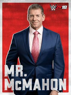 Vince McMahon Added to WWE 2K18 Playable Roster WWE chairman and CEO Vince McMahon has officially been added to WWE 2K18's playable roster. This isn't the first time Mr. McMahon will be playable in a new WWE 2K game as he was also part of the roster in last year's entry WWE 2K17 along with the rest of the McMahon family. Vince McMahon image via Twitter. WWE 2K18 will be released on October 17 for PlayStation 4 Xbox One and Nintendo Switch. Check out the last 47 playable wrestlers in the game…