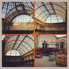 30secondstomars Building a show at Grand Palais, Paris #marsinfrance