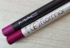 Make Up Mayhem: MAC Heroine Lip Pencil Review + Dupe Alert (Flormar Lip Pencil No. 218)  #makeup #dupes