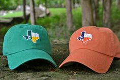 You can't grow up in the country and not accessorize with baseball caps! #TexasPride
