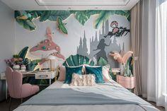 Bedroom Bed Design, Kids Bedroom, Theme Hotel, Childrens Beds, Kids Room Design, Baby Room Decor, Kid Spaces, Girl Room, Cool Furniture