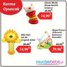 Karma oyuncak indirimli Mucizebebe'de. Fırsatı kaçırmayın!