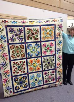christie's quilt