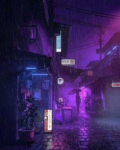 Purple Rain by Mike Winkelmann (beeple)