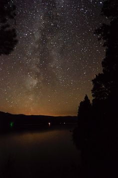 Montana night sky. Beautiful!