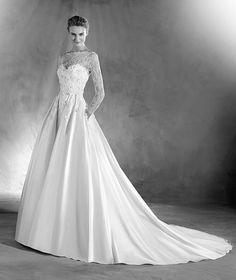 Elmira - Vestido de noiva desenho estilo princesa