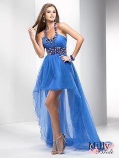 Mid-Blue prom dress