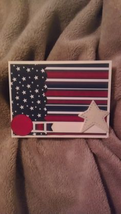 Patriotic Card - Scrapbook.com