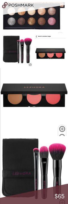 🆕 Sephora Collection Moonshadow Baked Eyeshadow Sephora Collection Moon baked eyeshadow pallette (Nude), New in Box Sephora Makeup Eyeshadow