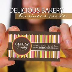 29 best contagious cookies images on pinterest decorated cookies when starting a home bakery image is everything your business card should represent reheart Images