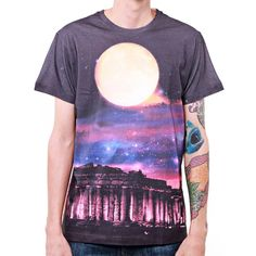 Digital Printed Parthenon Tshirt