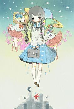 kureome:  魚座事件   まゆころ [pixiv]