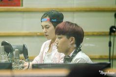 Kai, Xiumin-130912KBS-R Cool FM Super Junior's Kiss The Radio -1/3 Credit: Angelonia.(KBS-R 쿨 FM 슈퍼주니어의 키스 더 라디오)