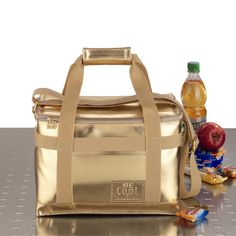 Be Cool Gold Lunch Box.