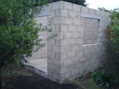 brick built shed - Google Search