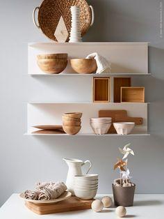 Ikea wandopbergers BOTKYRKA. Stalen planken met stijlvol Scandinavisch design #opbergsystemen #wandopbergers #ikea