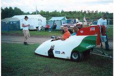 Funny Car golf cart