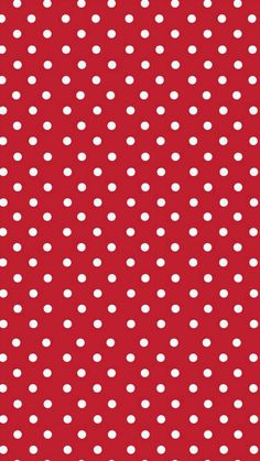Red And White Wallpaper, Red Wallpaper, Pattern Wallpaper, Wallpaper Backgrounds, Disney Background, Polka Dot Background, Red Background, Wallpaper Iphone Disney, Cellphone Wallpaper