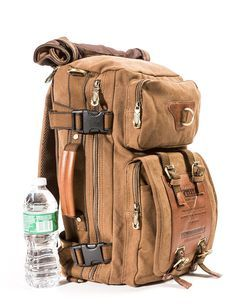 Original Kaukko Vintage Canvas Travel Backpack Satchel Carry Bag Hiking Camping Kaukko Vintage Canvas Travel Backpack Satchel Carrying Bag Hiking Camping USA in Clothing, Shoes & Accessories, Men's Accessories, Backpacks, Bags & Briefcases Satchel Backpack, Travel Backpack, Travel Bags, Puppy Backpack, Messenger Bag, Sac Week End, Vintage Canvas, Oldschool, Men's Grooming