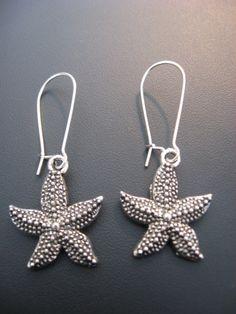 Starfish Jewelry  Sweet Little Starfish Earrings by jewelryrow, $9.99