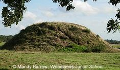 Sutton Hoo Burial Mound-Anglo Saxon Period