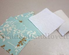 Fabric Coasters | Make It and Love It