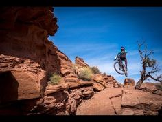 """Watch: Nate Hills and Kyle Mears Blast the Portal Trail, the """"Roughest, Sustained Downhill Section in Moab"""" 