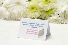 Charity wedding favours just got stylish! These new pins created by wedding dress designer Elizabeth Stuart are the latest for Cancer Research UK… Charity Wedding Favors, Wedding Favour Drinks, Wedding Favours Shots, Wedding Favours To Make, Honey Wedding Favors, Creative Wedding Favors, Cancer Research Uk, Edible Favors, Marriage