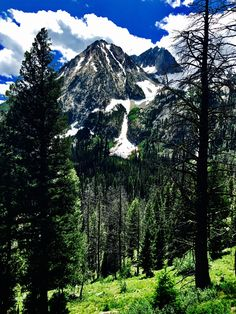 Williams Peak Goat Falls Drainage Sawtooth's-Great Yurt Skiing -Susan Meldrum