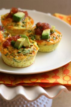 Southwest Omelette Cups by @perrysplate