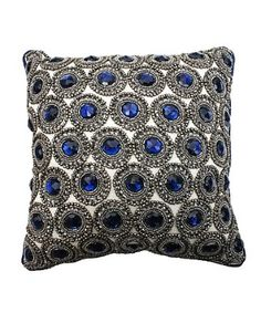 This chic Rhinestone Pillow is the ultimate example of sophistication and glam that your home is missing! #thro #throbyml #marlolorenz #bluefly #belleandclive #sale #like #love #fashion #spread #follow #share #cozy #comfy #throws #pillows #homedecor #home #decor #gifts #buy #shop
