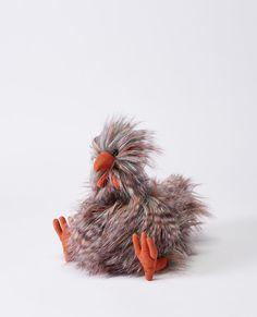 furry chicken plush [ad]