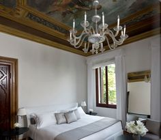 The Aman Hotel in Venice is considered one of the most prestigious and well designed hotels of the past year. One of the great choices by the designer was to make use of the Maxalto collection from B B Italia, creating a Palazzo, Destination Voyage, Rococo Style, Living Area, Interior Inspiration, Interior Design, Furniture, Resorts, Home Decor