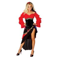 Sexy Bridget Gypsy Adult Costume. #halloween #costume