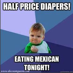 HAHA! Dirty diaper humor!