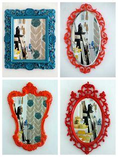 Emérita Desastre: Espejos para decorar cualquier estancia