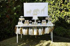 Golden Safari Party
