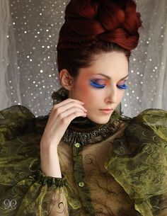 Colours (Love this pic. It is Couture through and through.)