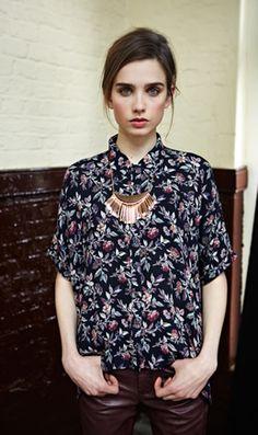 fall blouse