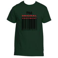 1966 Barcode Ultra Cotton® T shirt designs | Underground Statements