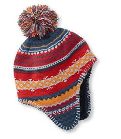 64e7953f50a Kids  Katahdin Peruvian Earflap Hat (No matching mittens.but cou d get  solid color ones elsewhere.