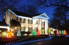 Graceland at Christmas Things to do in Memphis at Christmas time