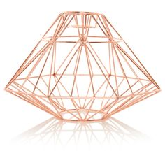 George Home Copper Effect Origami Pendant Light Shade