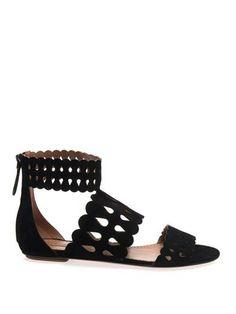 Teardrop suede sandals | Azzedine Alaïa | MATCHESFASHION.COM