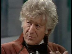 Doctor who classic who third doctor john pertwee suave judging look