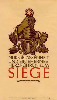 nsdap   Neues Europa: Weekly Quotation Posters of the NSDAP