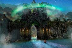 来 Shangri-La 来 ~ The Jade Gates by Aimee Stewart